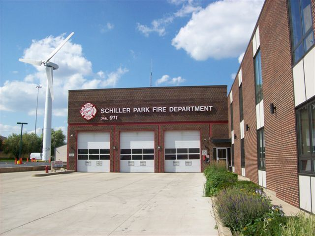 Schiller Park Fire Department, Station #1